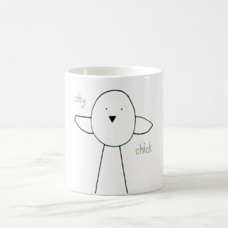 City Chick Coffee Mug