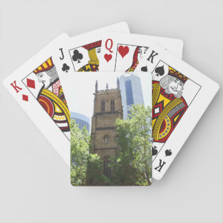 City Church Playing Cards