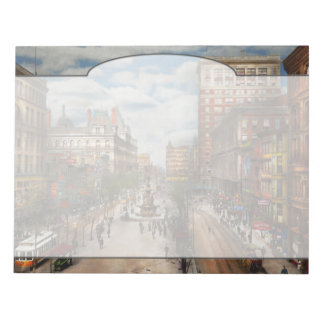 City Cincinnati OH - Tyler Davidson Fountain 1907 Notepad