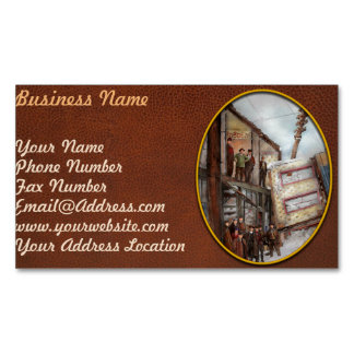 City - Cleveland OH - Open house 1913 Magnetic Business Card