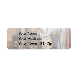 City - Cleveland OH - Open house 1913 Return Address Label