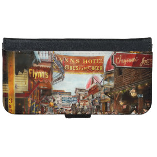 City - Coney Island NY - Bowery Beer 1903 iPhone 6 Wallet Case