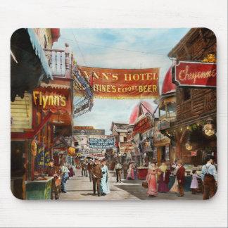 City - Coney Island NY - Bowery Beer 1903 Mouse Pad
