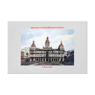 City council of A Corunna/City Council of To Corun Gallery Wrap Canvas