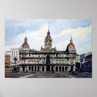 City council of A Corunna/City Council of To Corun Poster