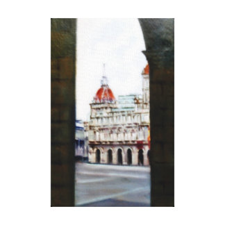 City council of A Corunna/City Council of To Gallery Wrapped Canvas