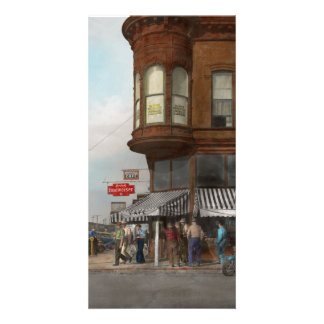 City - Dillon, Montana - Today's my day off - 1942 Customised Photo Card