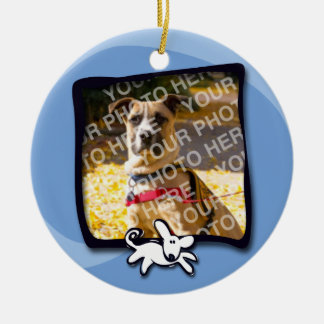 City Dogs Rescue Ceramic Ornament