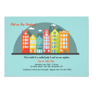 City Dwellers Meet & Greet Invitation
