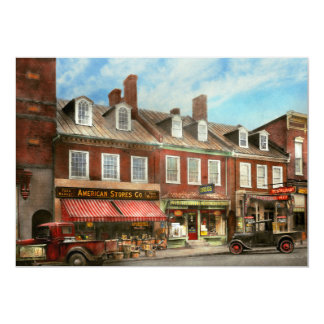 City - Easton MD - A slice of American life 1936 Card