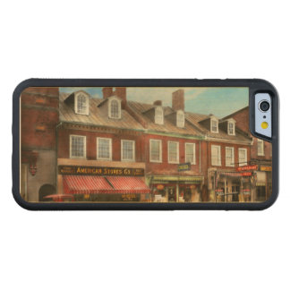 City - Easton MD - A slice of American life 1936 Carved Maple iPhone 6 Bumper Case