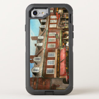 City - Easton MD - A slice of American life 1936 OtterBox Defender iPhone 8/7 Case