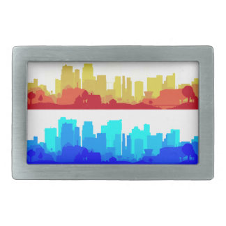 City Edge Rectangular Belt Buckles