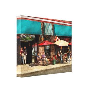 City - Edison NJ - Pino's basket shop Canvas Print