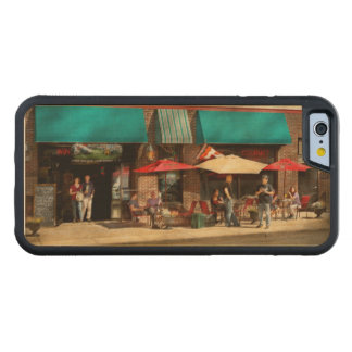 City - Edison NJ - Pino's basket shop Carved Maple iPhone 6 Bumper Case