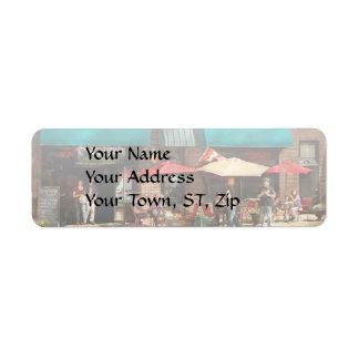 City - Edison NJ - Pino's basket shop Return Address Label