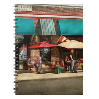 City - Edison NJ - Pino's basket shop Spiral Notebook