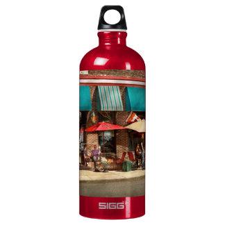 City - Edison NJ - Pino's basket shop Water Bottle