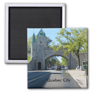 City Entrance Quebec City Magnet