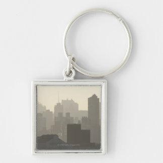 City Fog Keychain
