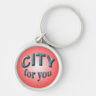 City for You Keychain