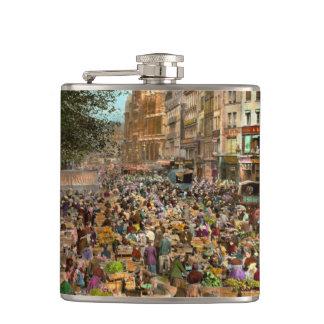 City - France - Les Halles de Paris 1920 Flasks
