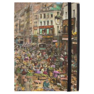 """City - France - Les Halles de Paris 1920 iPad Pro 12.9"""" Case"""