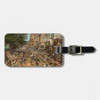 City - France - Les Halles de Paris 1920 Luggage Tag