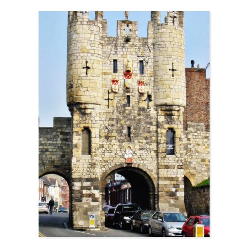 City Gate In York In North Yorkshire Postcards