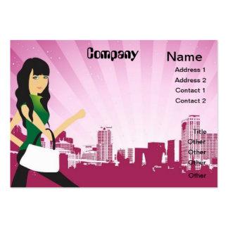 City Girl business card