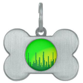 City Greenscape Pet Name Tag