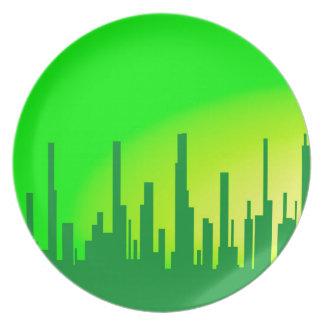 City Greenscape Plate