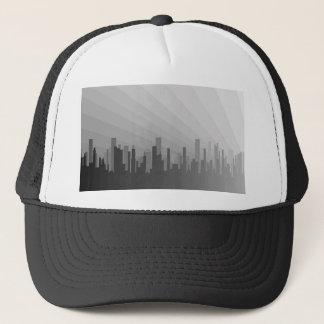 City Greyscape Trucker Hat