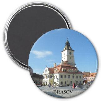City Hall 7.5 Cm Round Magnet