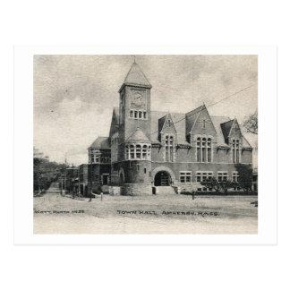 City Hall, Amherst, Massachusetts Vintage Postcard