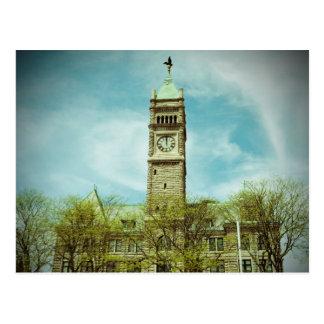 CITY HALL LOWELL MASSACHUSETTS POSTCARD