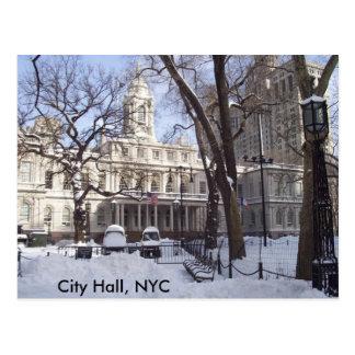 City Hall, NYC Postcard