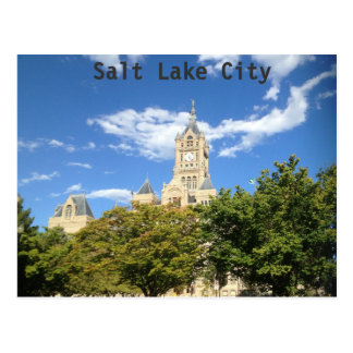 City Hall - Salt Lake City Postcard