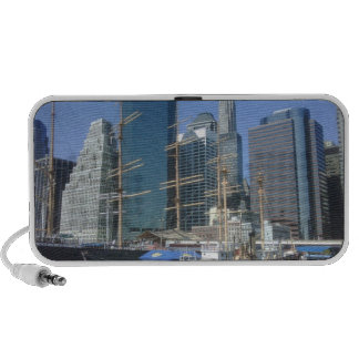 City Harbor Boats Travelling Speakers