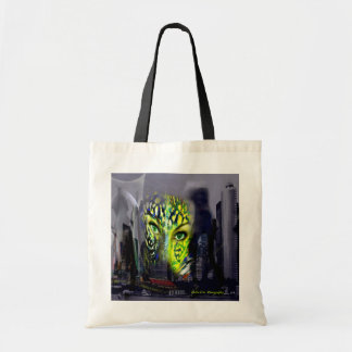 City huntress of the night budget tote bag
