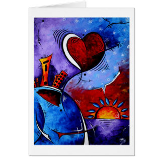 City in Motion Greeting Card