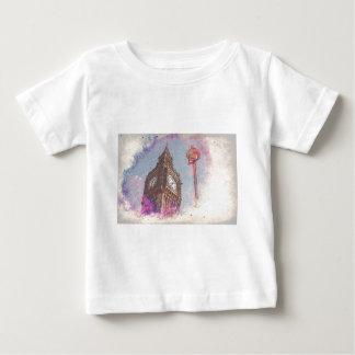 City in Nebula #purple Baby T-Shirt