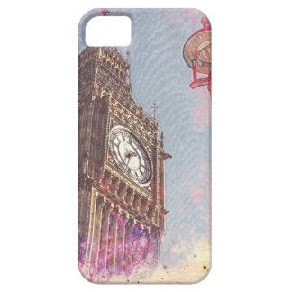 City in Nebula #purple Barely There iPhone 5 Case