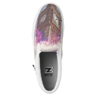 City in Nebula ZIPZ Sneakers