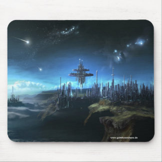City In The Clouds - Mousepad