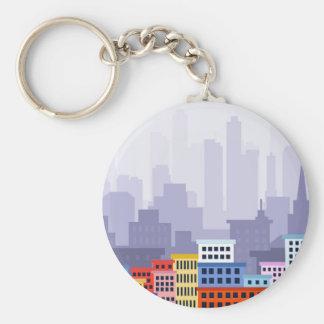 City Key Ring