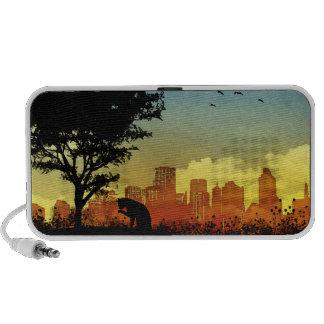 City Kitty Laptop Speakers