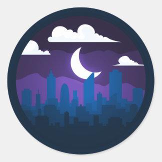 City Landscape Sticker