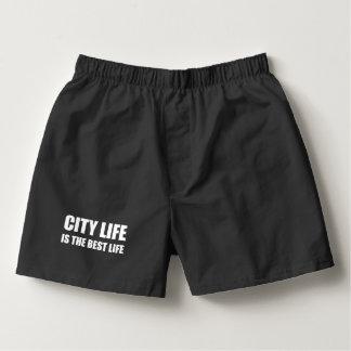 City Life Best Life Boxers