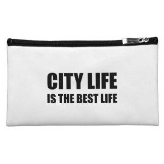 City Life Best Life Makeup Bag